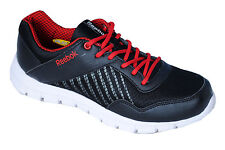Reebok Mens Original Finish Lite Black Red Casual Sports Shoes