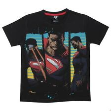 Superman Tween Boys Half sleeve T- Shirt - Black