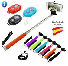 SELFIE BASTONE BRACCIO ESTENSIBILE MONOPIEDE MANDO BLUETOOTH+SUPPORTO PER IPHONE