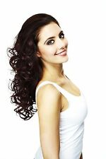 HAIR COUTURE BY SLEEK |HEAT RESISTANT|SYNTHETIC|HALF WIG|LONG|CURLY-BLOSSOM