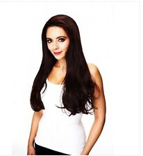 """HAIR COUTURE 23-25"""" LONG   STRAIGHT   HEAT RESISTANT  SYNTHETIC   HALF WIG -IVY"""