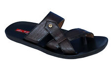R-Swiss Brand Mens Brown Casual Slipper / Sandal 30128