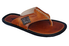 Lee Grain Brand Mens Tan Casual Slipper / Sandal 8854