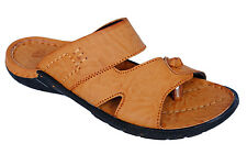 Sicliy Brand Mens Tan Casual Slipper / Sandal 13033