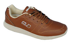 Columbus Brand Mens Brown Casual Light weight Sports Shoes F2