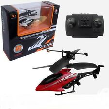 Mini 2CH Radio Remote Control RC Helicopter Heli Airplane Aircraft Toy 2Color