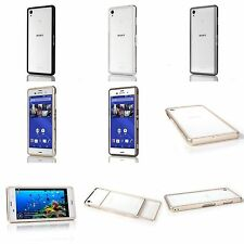 Sony Xperia Z3 Metal Bumper Aluminum Alloy Metal Bumper Screwless Sliding Design