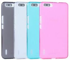 For Huawei Honor 6 Plus Matte Pudding Soft TPU Silicon Case Cover