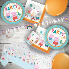 Peppa Pig Party Supplies Tableware, Decorations, Banners, Balloons, Invites