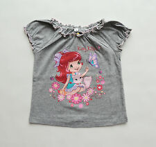 EMILY STRAWBERRY RAGAZZE T-SHIRT TOP TGL 98 104 110 116 122