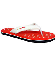 Lotto Red Daily Wear Flip Flops (Lotto Red)