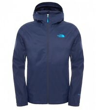 The North Face Quest waterproof shell Jacket Navy Cosmic hooded Ship WorldWide