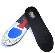 Men Women Gel Insoles Orthotic Sport Running Shoe Pad Arch Support Heel Cushion