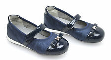 HOGAN JUNIOR SCARPA BALLERINA BAMBINA-GILR SHOES BLU ART. HXT0520I0328S5019E