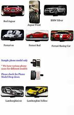 Supercars Jaguar race car leather wallet phone case S7 Edge G4 A3 A5 S6 M9 Z5