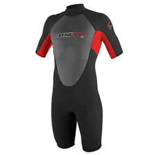 O'Neill - Youth 3/2mm Reactor Spring Shorty Wetsuit - Black/Red