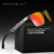 Men's Aluminum Polarized Driving Sunglasses Mirror Sun Glasses Mirrored Lense