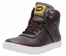 Black Tiger Mens Synthetic leather Casual Shoes 072 -Brown