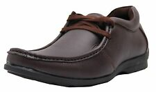 Black Tiger Mens Synthetic Leather Casual Shoes 4003-Brown