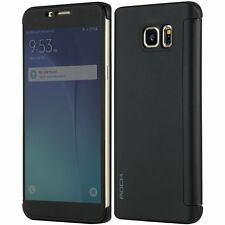 Branded Rock Flip Cover For Samsung Galaxy S7 Edge Touch View Back Cover S7 Edge