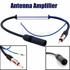Car Aerial Antenna Stereo Radio FM & AM Signal Amplifier Booster DIN to DIN (2)