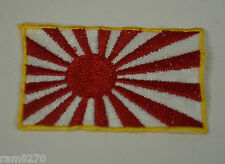 JAPAN RISING SUN NIPPON JAPANESE FLAG EMBROIDERED CLOTH SEW ON PATCH BADGE