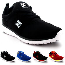 Mens DC Shoes Heathrow Low Top Lightweight Sport Skate Boarding Trainers UK 7-12