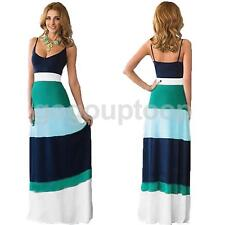 Women Sexy Summer Casual Maxi Long Dress Party Evening Long Sleeveless Gown Ball