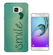 595 Shabby Chic Smile Case Cover For Samsung Galaxy J1 J3 J5 A3 A5 S5 S6 S7 Edge