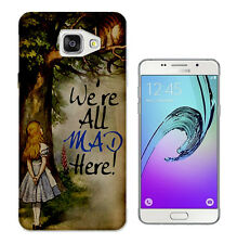 657 Alice wonderland Case Cover For Samsung Galaxy J1 J3 J5 A3 A5 S5 S6 S7 Edge