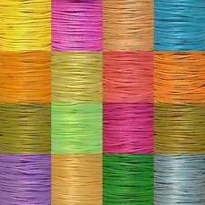 2mm Rattail Satin Cord Thread For Kumihimo Macrame Shamballa 5 Metre Packs