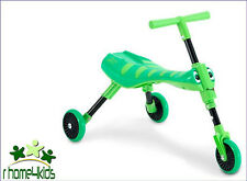 Mookie, Toddler Scooter Scuttle Bug, Improve Kids Ride On - Grass Hopper / Fleur