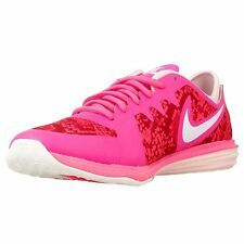nike womens dual fusion TR 3 print running trainers 704941 604