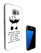 237 Banksy Panda Quote Case Cover For Samsung Galaxy J1 J3 J5 A3 A5 S6 S7 Edge