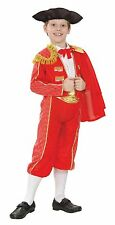 Quality childrens Spanish matador, bull fighter fancydress costume  ages 3 - 12