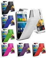 Premium PU Leather Flip Wallet Case Cover & Screen Film For Nokia Lumia 630 635