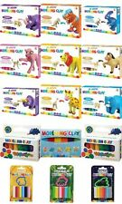 Clay Modelling Play Dough Set Craft Modelling Doh Clay Rolling Art Cutters Craft