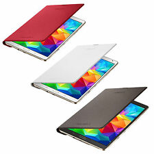 Genuino Samsung Super Amoled Galaxy Tab S 8.4 LTE Simple Funda Tipo LIBRO NUEVO