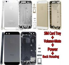 ALLOY METAL REPLACEMENT BATTERY HOUSING BACK CASE COVER FOR APPLE IPHONE 5