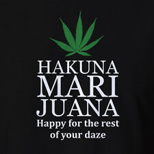 Weed Cannabis Marijuana Clothing Hakuna Marijuana Dope Festival Hippy Rave seeds