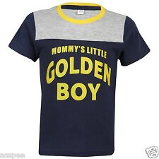 Luke and Lilly Boys Printed Round Neck Cotton Half Sleeve T-Shirt