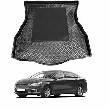 LDPE boot liner tray rubber load mat bumper protector Ford Mondeo MK 5 V 2014+