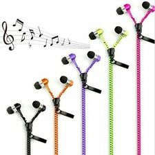 High Bass Zipper Tangle Free Universal Headphone Earphone with Mic★GET FREE GIFT