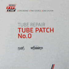 Rema Tip Top Inner Tube Tyre Repair Patches No. 0  30 mm Red Edged