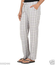 Antshrike Women Cotton Woven Pyjama Nightwear Pant -Grey