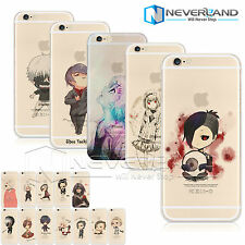 Cute Tokyo Ghoul Pattern Soft/Hard Phone Shell Case Cover For iPhone & Samsung