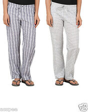 Antshrike Pack of 2 Cotton Woven Women Pyjama Nightwear Pant