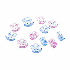 Baby Shower Charms: Pink & Blue Rocking Horses for Girls & Boys
