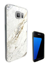 C804 Marble Effect Case Cover For Samsung Galaxy J1 J3 J5 A3 A5 S6 S7 Edge