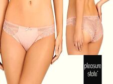 Pleasure State *Bryony June* Brazilia briefs peach bud S (10)  L (14) RRP £30.00